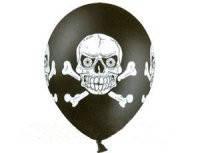 Воздушный шар череп и кости 14 1103-0769
