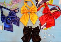 Детский галстук-бант бабочка