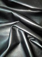 Натуральная кожа КРС высочайшего качества Шамани цвет черный, фото 1