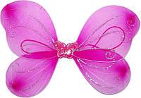 Крылья бабочки детские (Малиновые) 250216-055