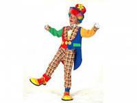 Костюм детский Веселого Клоуна размер 120-130 150216-259