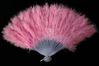 Веер перьевой светло-розовый 270216-160