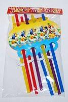 Трубочки праздничные Микки Маус и друзья 8 170216-045