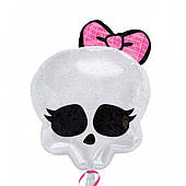 "Шар фольга 18"" Monster High череп 1207-1556"