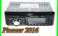 Автомагнитола Pioneer 2016 - MP3+FM+USB+SD+AUX!