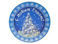 Тарелки Зимняя Сказка 6 шт 1502-1820