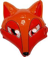Маска детская лиса оранжевая 240216-446