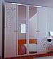 Шкаф 4Д Богема (зеркало)Миромарк, фото 2