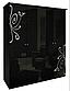 Шкаф 4Д Богема (зеркало)Миромарк, фото 4
