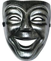 Маска Театральная комедия (Серебро) 240216-244