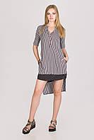 Рубашка- платье стильное Poptime № 7518