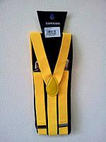 Подтяжки желтые гангстерские 110616-002