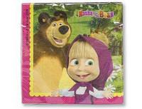 Салфетки Маша и Медведь 1502-1981