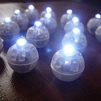 Светодиод шарик белый 130716-001