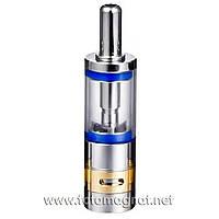 Клиромайзер Ectank AeroTank M16 clearomizer dual coil EC-017 Blue (клиромайзеры для электронных сигарет)