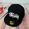 Черная кепка Stussy с белой надписью (реплика), фото 7