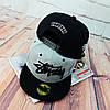 Серая кепка Stussy с черной надписью (реплика), фото 6