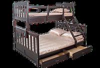 Кровать Жанетт двухъярусная трехместная