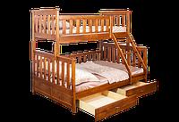 Кровать Жанетт-2 двухъярусная  трехместная