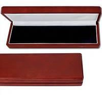 Деревянный футляр для фалеристики 250Х75 мм