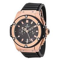 Hublot King Power Gold quartz мужские стильные наручные часы Япония