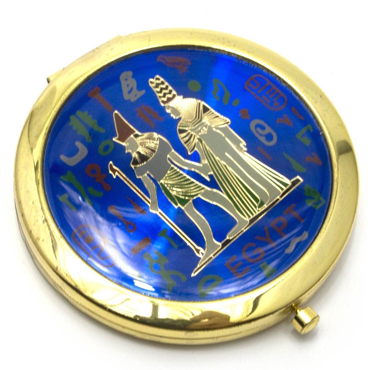 Зеркальце круглое косметическое Египет
