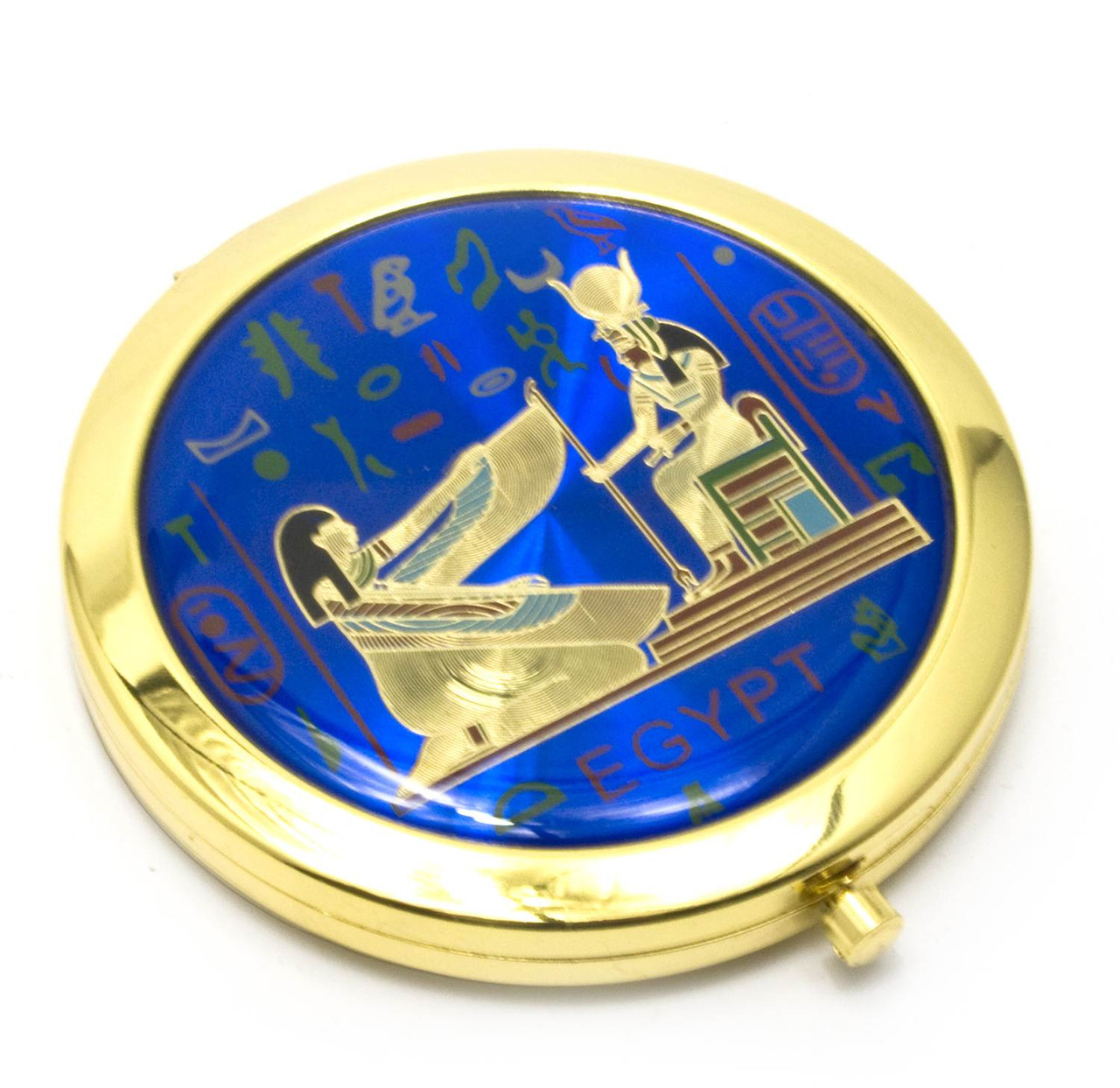 Зеркало карманное косметическое Египет
