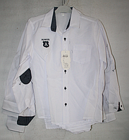 Рубашка на мальчика для школы оптом стильная купить в Украине (10-13 лет ; Турция)