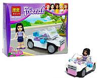 Конструктор аналог LEGO Friends Автомобиль Эммы 34 детали