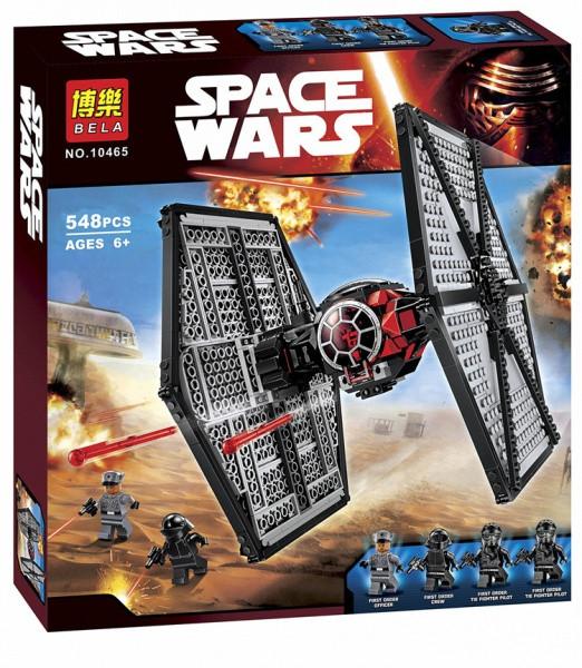 Конструктор Bela 10465 (реплика LEGO Star Wars 75101) TIE Истребитель особых войск Первого Ордена, 548 дет