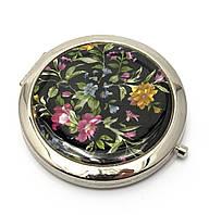Зеркало карманное косметическое Полевые цветы