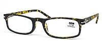 Очки для чтения «SOS» (унисекс) P 15040 +3,00, Mat-Yellow-patern