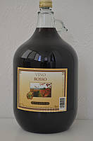 Вино сухое красное Vino Rosso Gielle 5 л.