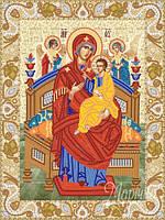 """Схема для вышивки бисером """"Икона Божией Матери """"Всецарица"""""""