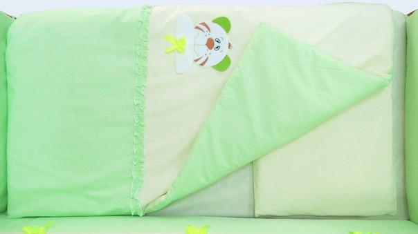 Одеяло и подушка «Совушка/Тигрик»