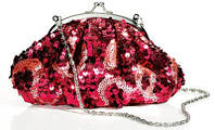 Красная маленькая сумочка клатч - кошелек