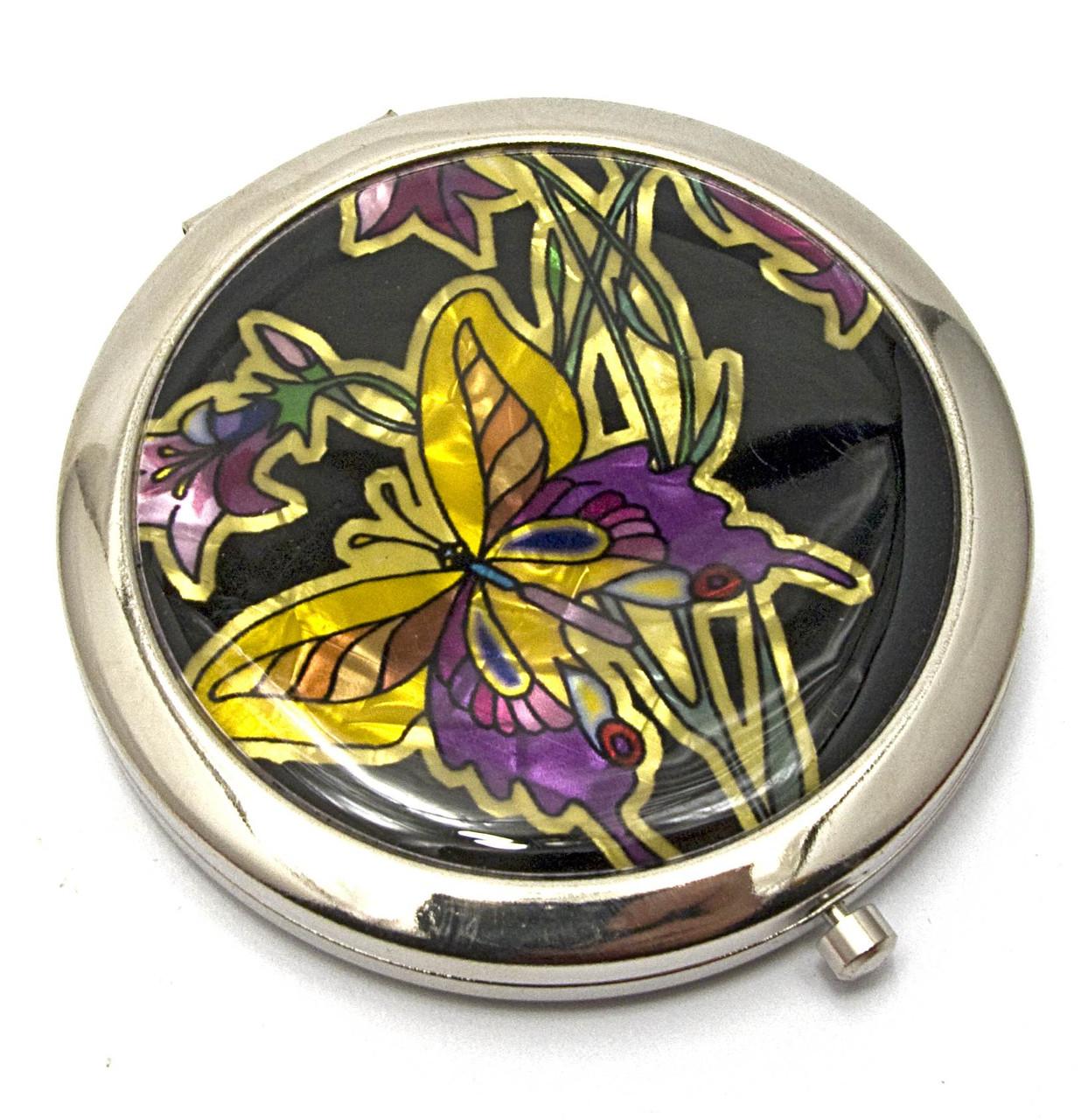 Зеркальце косметическое Бабочка
