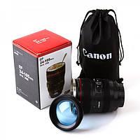 """Чашка """"Объектив"""" с линзой Canon EF 24-105 с чехлом, фото 1"""
