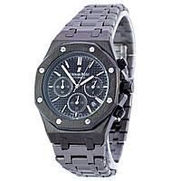 Мужские часы Audemars Piguet цвет корпуса черный, черный циферблат, класс ААА
