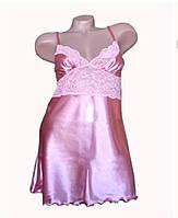 Атласная ночная сорочка Серенада(Serenade)2102