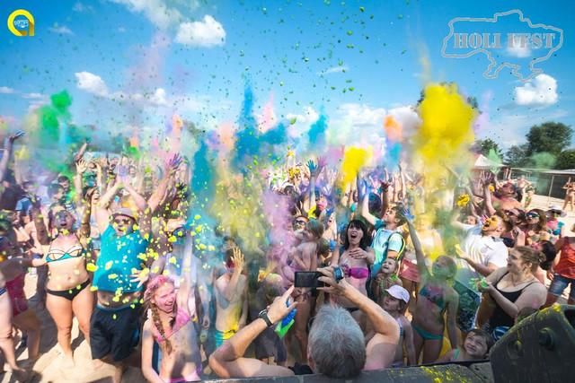 Суми зустріли Holi Fest вибухом яскравих фарб!