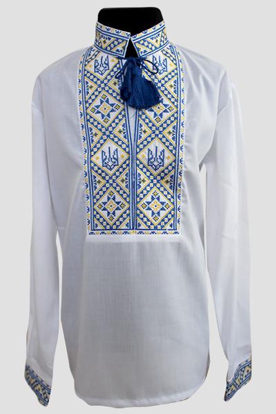 ... Этническая одежда детская  Вишиванка для хлопчика  Тризуб. Вишиванка  для хлопчика  Тризуб 916618a722b43