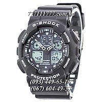 Часы женские наручные Casio G-Shock Ga-100 Black-White