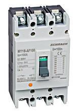 Автоматический выключатель типа АF , 3P, 25kA , 100A Schrack
