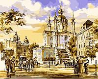 Картина по номерам Андреевская церковь Сергей Брандт Turbo VP-051