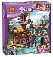 "Конструктор Bela Friends 10497 ""Спортивный лагерь: дом на дереве"" (аналог LEGO Friends 41122), 739 дет​, фото 1"