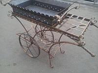 """Кованый мангал на колесах """"Маракеш"""""""
