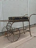 "Кованый мангал на колесах ""Баку"", фото 1"