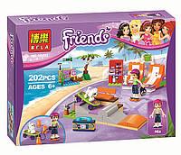 "Конструктор Bela Friends 10491 ""Скейт-парк"" (аналог LEGO Friends 41099), 202 дет"