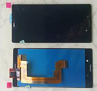 Дисплей модуль Sony Xperia M4 Aqua E2312 в зборі з тачскріном, чорний
